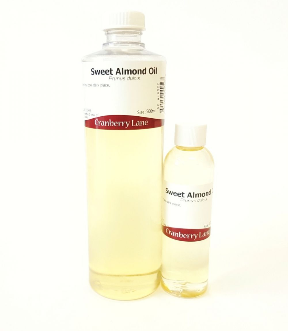 Sweet Almond Oil by Cranberry Lane Natural