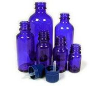 Cobalt Blue Bottles
