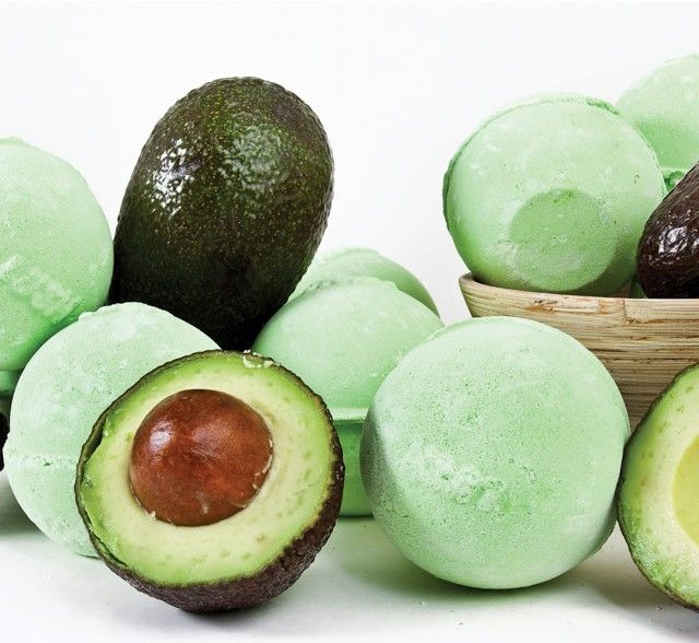 Awesome Avocado Bath Bomb