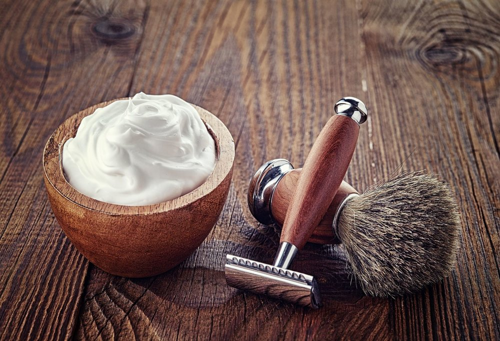 DIY Refreshing Shaving Cream